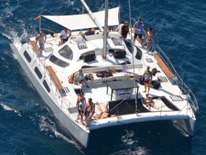 Catamaran Blue spirit