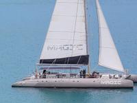 largest exclusive sailing catamaran